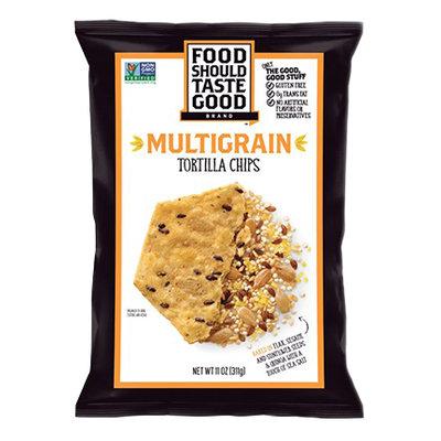 Food Should Taste Good Multigrain Tortilla Chips