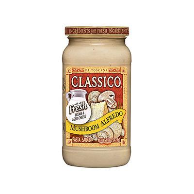 CLASSICO Mushroom Alfredo Pasta Sauce