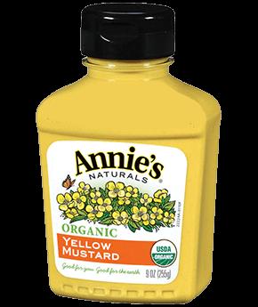 Annie's® Organic Yellow Mustard