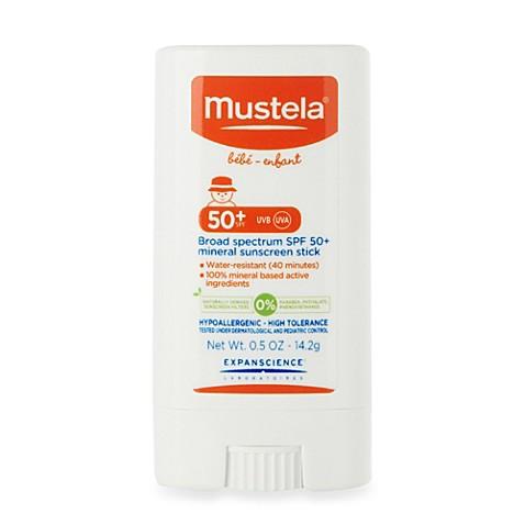 Mustela® SPF 50+ Broad Spectrum Mineral Sunscreen Stick