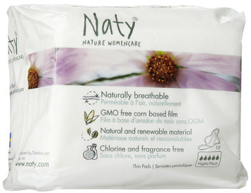Nature Womencare Thin Overnight Pads with Wings