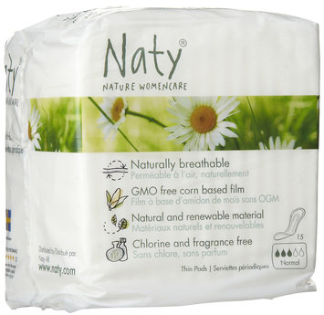 Nature Womencare Thin Pads, Normal - 1 ct.