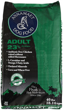 Annamaet Adult 23 Formula Dry Dog Food 40lb