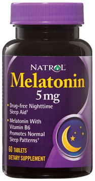 Natrol 0697011 Melatonin - 5 mg - 60 Tablets