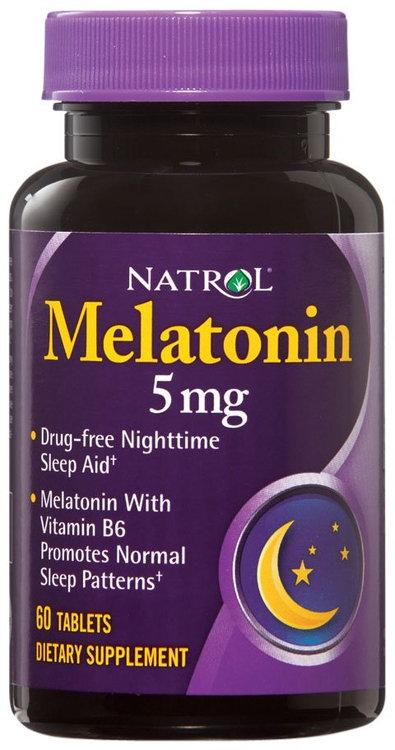 Natrol 0697011 Melatonin - 5 mg - 60 Tablets