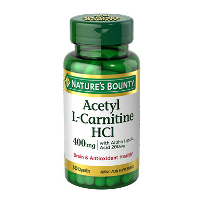 NATURE'S BOUNTY® Acetyl L-Carnitine HCl