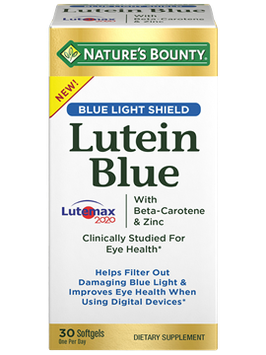 NATURE'S BOUNTY® Lutein Blue