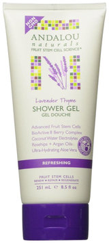 Andalou Naturals Refreshing Shower Gel - Lavender Thyme