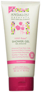 Andalou Naturals Soothing Shower Gel - 1000 Roses