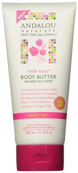 Andalou Naturals Velvet Soft Body Butter - 1000 Roses