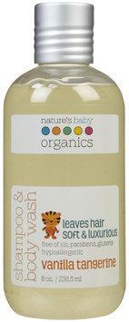tures Baby Organics Nature's Baby Organics Shampoo & Body Wash- Vanilla/Tangerine - 8 oz.