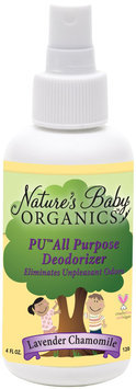 Nature's Baby Organics PU All Purpose Deodorizer - Lovely/Lavender
