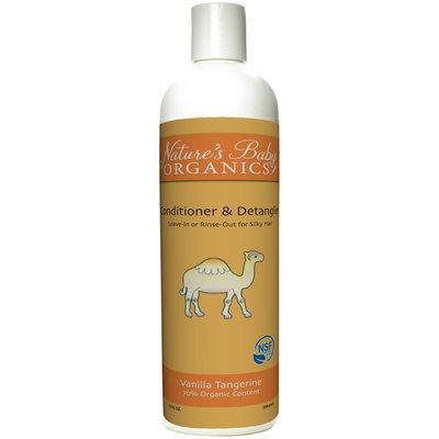 Nature's Baby Organics NSF Conditioner & Detangler - Tangerine - 12 oz