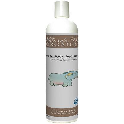 Nature's Baby Organics Face & Body Moisturizer - Fragrance Free - 6 oz