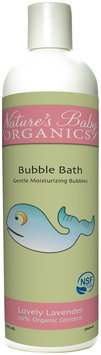 Nature's Baby Organics NSF Certified Bubble Bath - Lovely Lavender - 12 oz