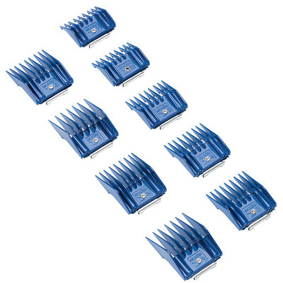 Andis Company 9 Piece Comb Set Blue Small - 12860