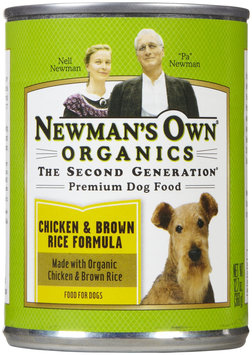 Newman's Own Chicken/Brown Rice Canned Dog Food