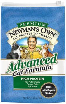 Newman's Own Organics - Advanced Cat Formula - 4.75 lb