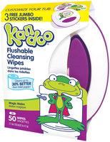 Kandoo Flushable Toddler Wipes - Magic Melon Scent