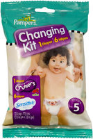 Pampers Changing Kit - Cruisers Diaper and Sensitive Wipes - 3 ct.