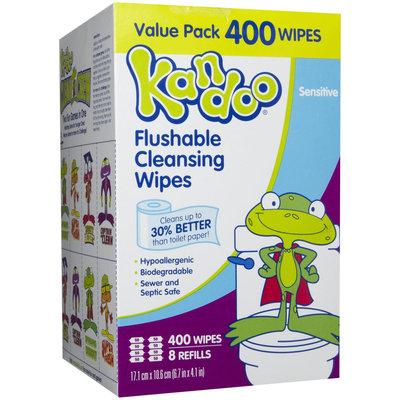 Kandoo Flushable Sensitive Wipes