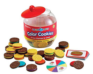 Learning Resources LER1182 Goodie Jar Games Color Cookies