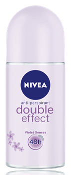 Nivea Double Effect Violet Senses Roll-On Deodorant