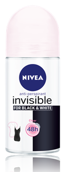 NIVEA for Black & White Clear Roll-on Deodorant