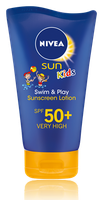 NIVEA Kids Swim & Play Sun Protection Lotion Spf 50+