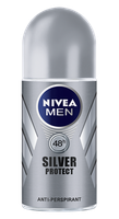 NIVEA for Men Silver Protect Roll-on Deodorant