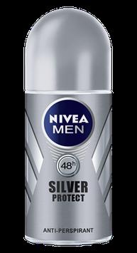 NIVEA for Men Silver Protect Roll-on Deodorant