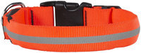 Nite Ize Nite Dawg LED Dog Collar, Medium, Orange