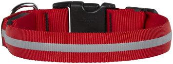 NITE IZE Small Red LED Flexible Strong Nylon Dog Collar