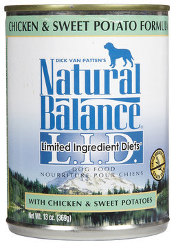 Tural Balance Pet Foods Natural Balance Limited Ingredient Diets Formula - 12 x 13 oz