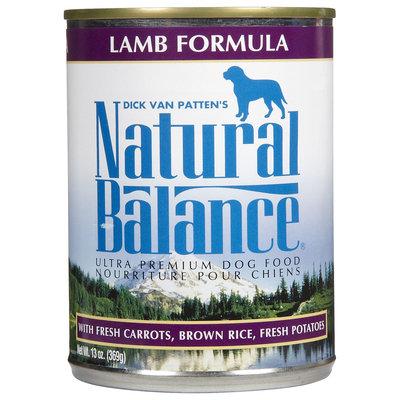 Natural Balance Ultra Premium Lamb Formula Canned Dog Food