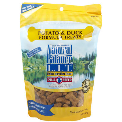 Natural Balance Limited Ingredient Treats - Duck & Potato Formula