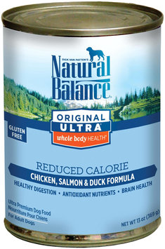 Tural Balance Pet Foods Natural Balance Reduced Calorie - 12 x 13 oz