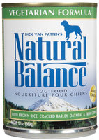 Natural Balance Vegetarian - 12 x 13 oz