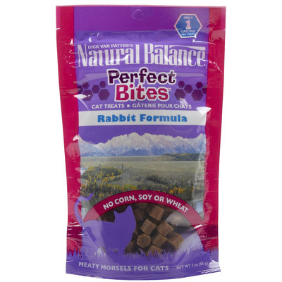 Natural Balance Perfect Bites - Rabbit - 3 oz