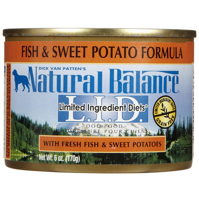 Phillips Feed & Pet Supply Natural Balance LID Can Dog Food 12 Pack Fish