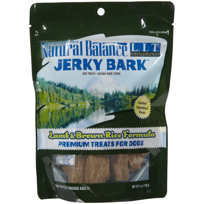 Natural Balance Limited Ingredient Diets Jerky Bark - Lamb & Brown Rice