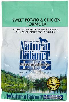 Natural Balance Limited Ingredient Diets Sweet Potato & Chicken Formula Dry Dog Food