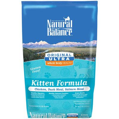 Natural Balance Ultra Whole Body Health Kitten Formula - Chicken, Duck Meal, & Salmon