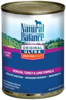 Natural Balance Ultra Whole Body Health - Venison, Turkey & Lamb