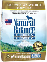 Natural Balance Limited Ingredients Diets Dry Dog Food - Legume & Wagyu Beef