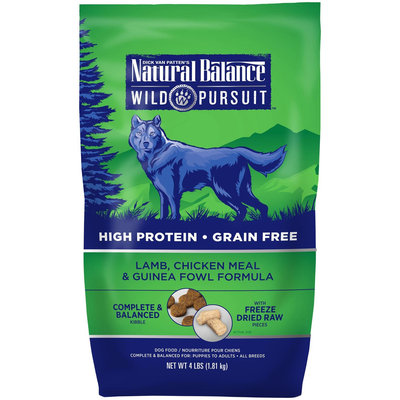 Natural Balance Wild Pursuit Dry Dog Food - Lamb, Chicken Meal & Guinea Fowl