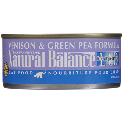 Natural Balance Limited Ingredient Diets Venison & Green Pea Formula - 24 x 5.5 oz