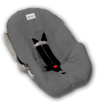 Nomie Baby Infant Car Seat Cover - Charcoal - Charcoal - 1 ct.
