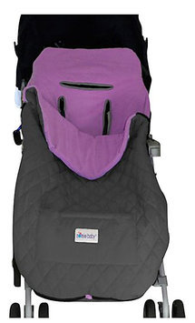 Nomie Baby Cozy Up Stroller Blanket - Purple - Toddler