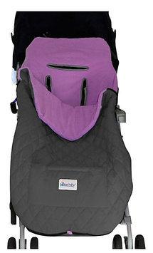 Nomie Baby Cozy Up Stroller Blanket - Purple - Toddler